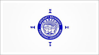 AIRCRAFT MECHANICS FRATERNAL ASSOCIATION LOGO